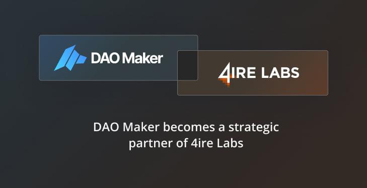 DAO maker announce