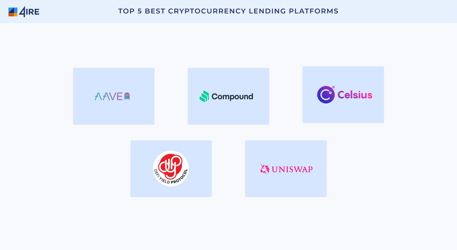 5 best defi lending platforms