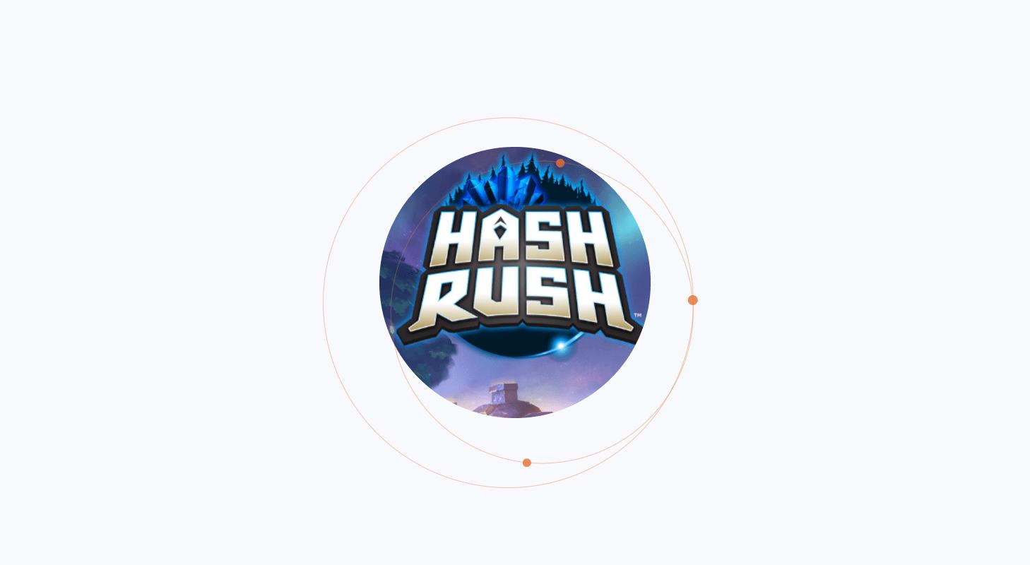 Hash rush blockchain game